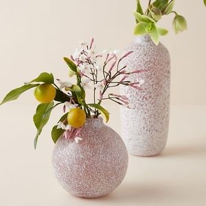 Anthropologie River Two Tone Small Stone Vase